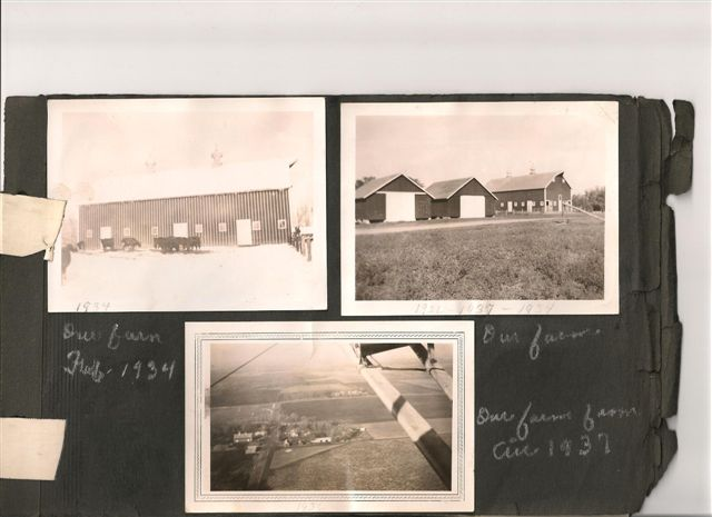 The farm site from the Waseca County Plat Book