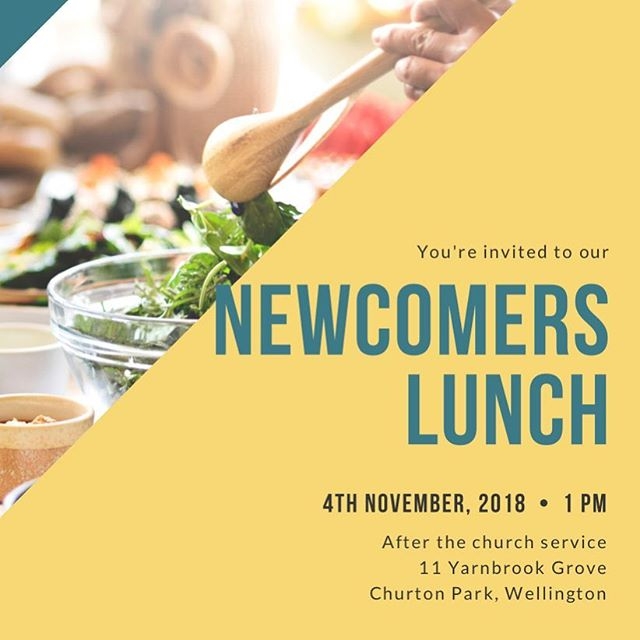 We loved seeing so many new faces this Sunday - just a reminder, if you're new to Northern Hills Church, we would love to see you come along to our Newcomers Lunch on the 4th November after the service at 1pm.  Philippians 4:19 And my God will meet all your needs according to the riches of his glory in Christ Jesus.