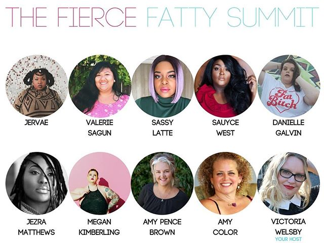 I am so excited to share that I joined my friend Victoria from @bampowlife, for the Fierce Fatties Summit. This is a FREE online event where nine fierce fat femmes share inspirational stories, confidence tips, fat love and lots more, in kickass video interviews. In my talk we chat about self and what it looks like. To save your FREE seat then click the link in @bampowlife's profile. See you there!