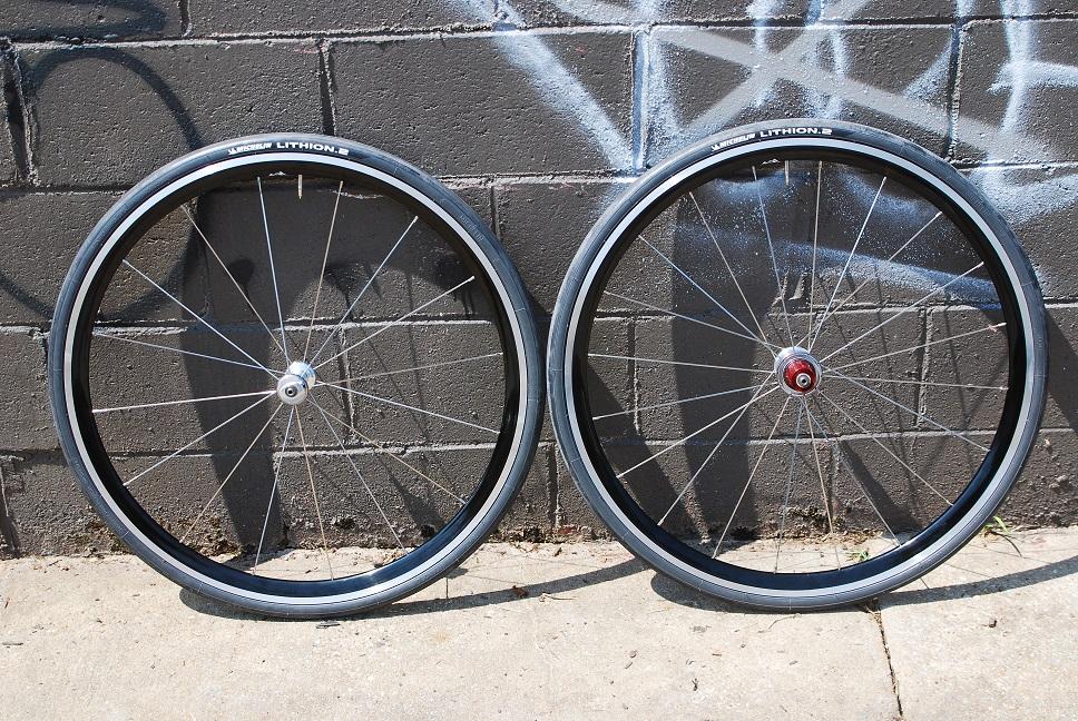 Superlight Zipp / Kinlin Wheelset