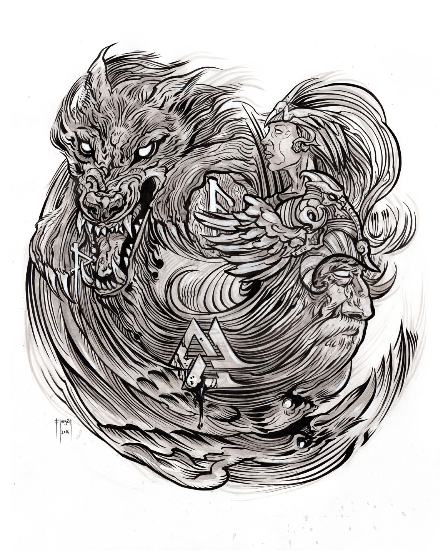 Havamal_Norse_Mythology_Book_verse_143