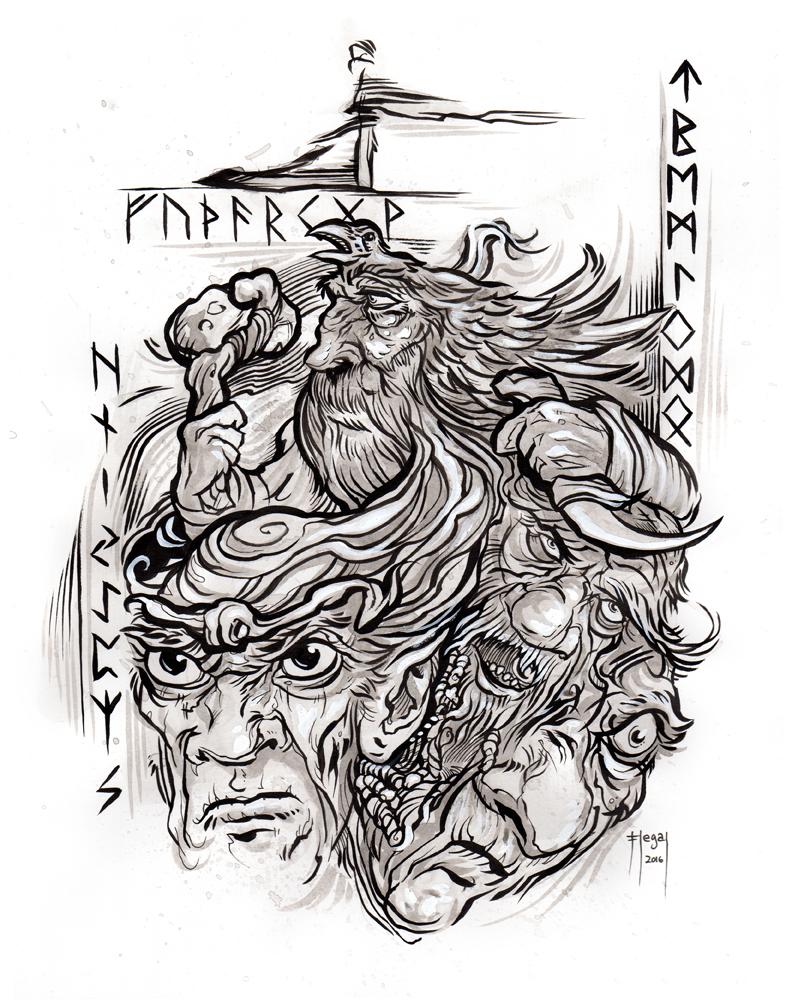 Havamal_Norse_Mythology_Book_verse_144