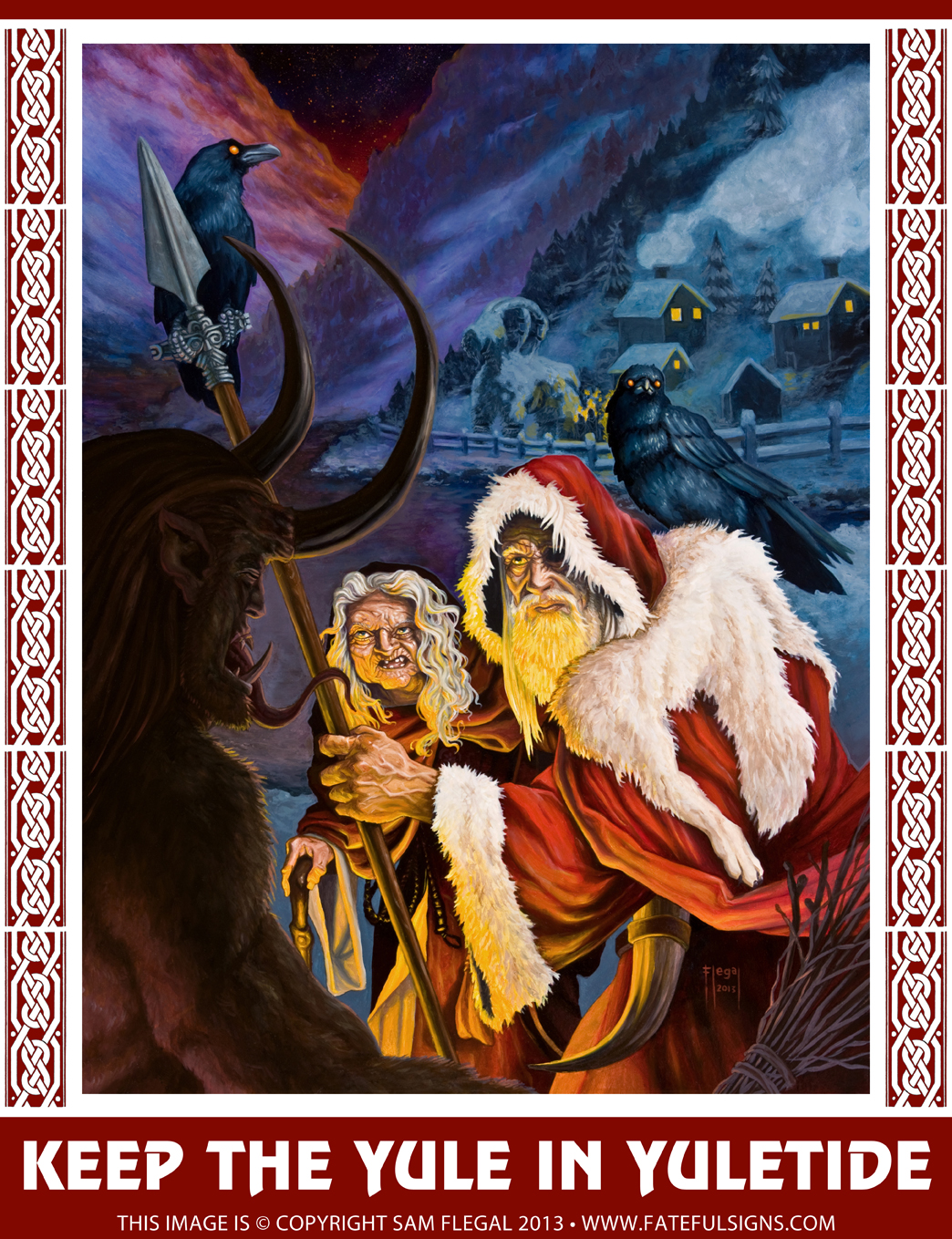 Viking_artwork_yule_spirits_painting