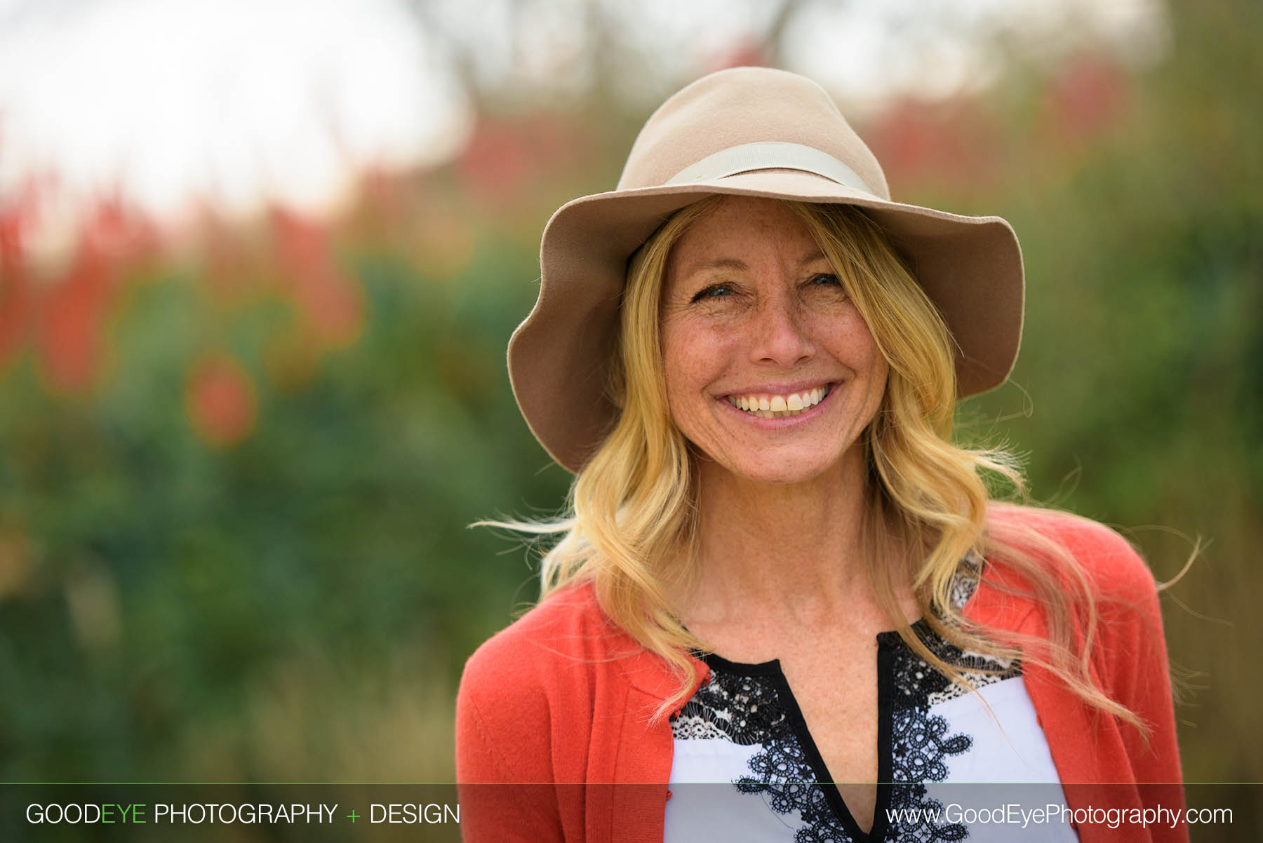 Casual business portrait outdoors at Wilder Ranch in Santa Cruz