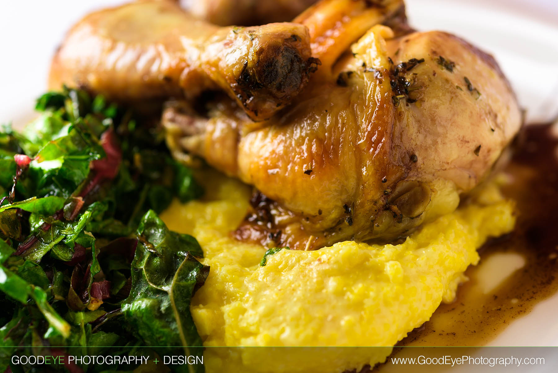 Chicken and Polenta