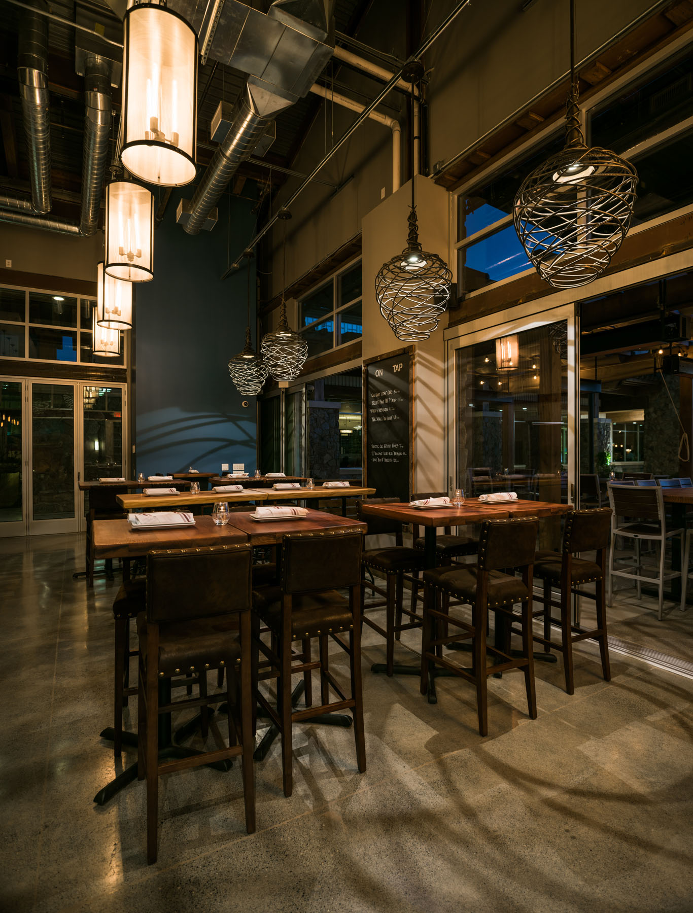 Cupertino Architecture Interior / Exterior Photography at Night - by Bay Area commercial photographer Chris Schmauch