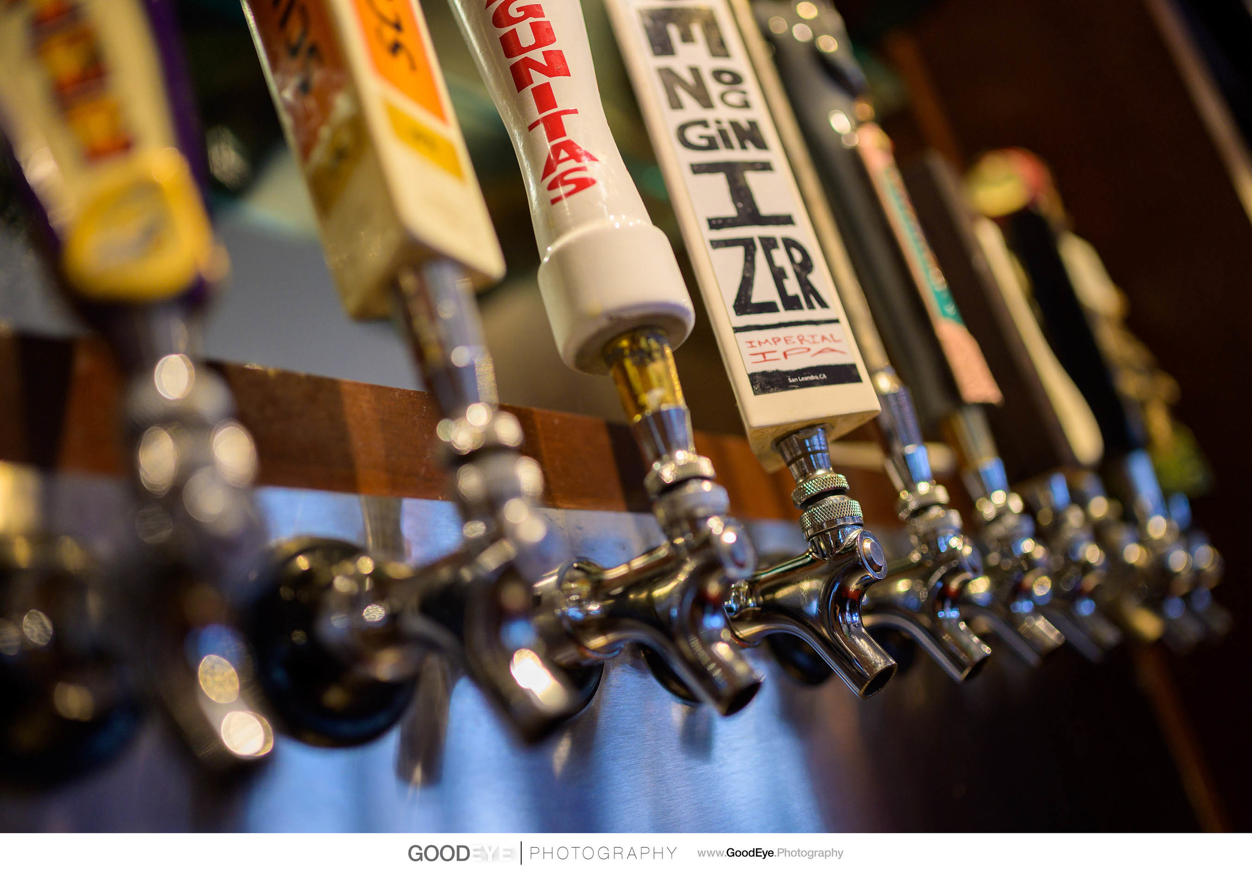 Draft Taps - San Ramon Food and Drink Photography - Firehouse 37 - Photos by