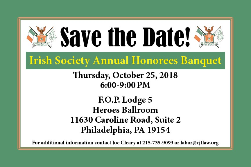 Irish Society Save the Date Honorees Banquet Postcard 2018 FRONT.jpg