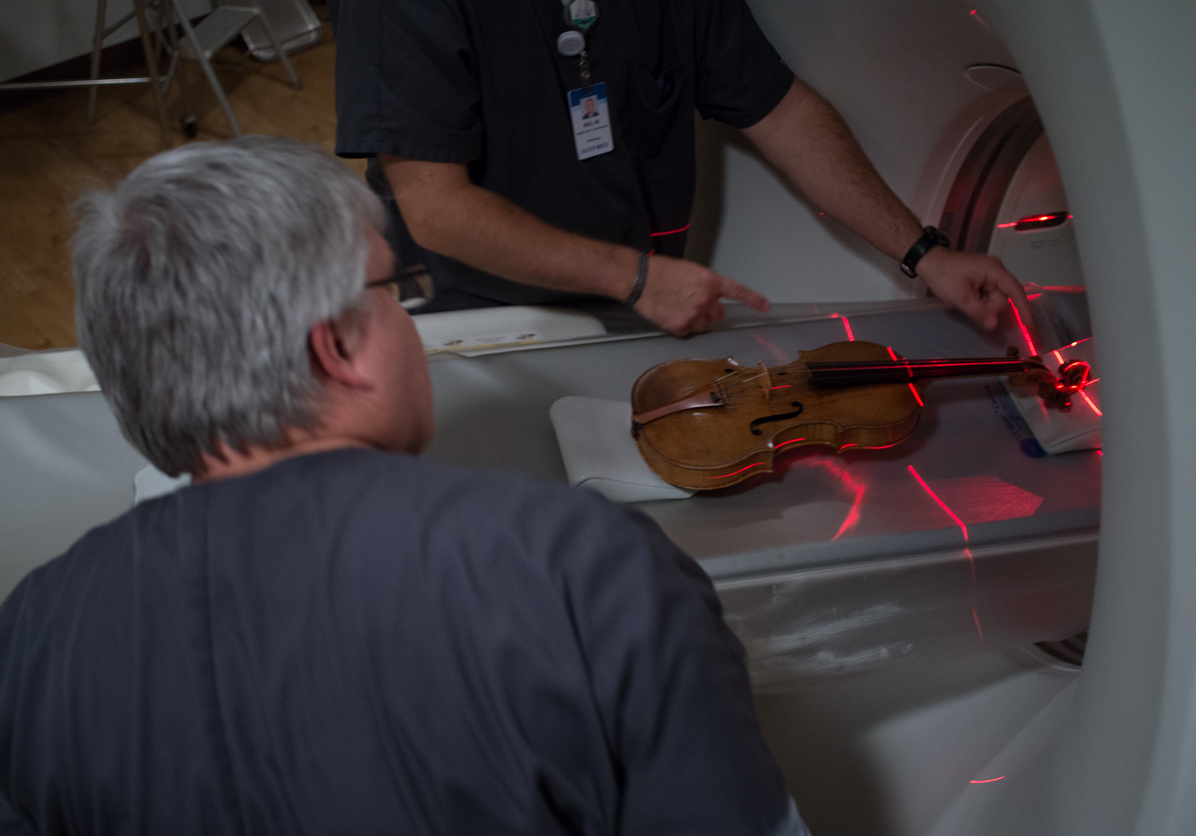 Lining up an Amati