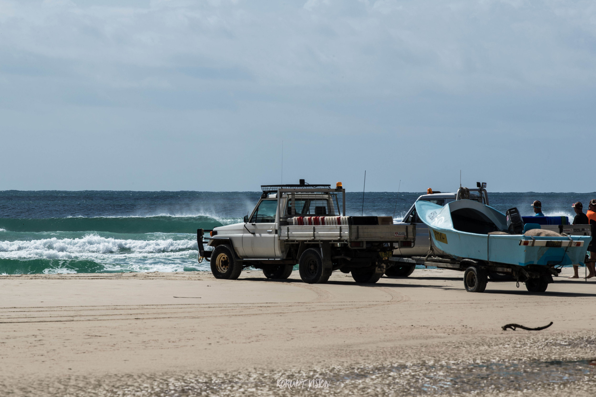 Parked up - Kirra