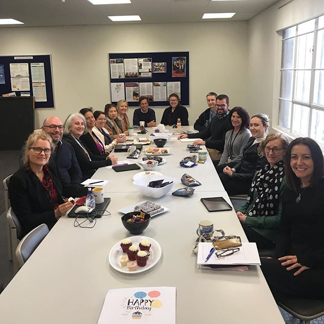 To celebrate the beginning of Term 4 and Tim's Birthday🎉 ESC staff had an afternoon tea this week. 🍩 🍰 ☕️ We hope you are all feeling refreshed after the school holidays too!