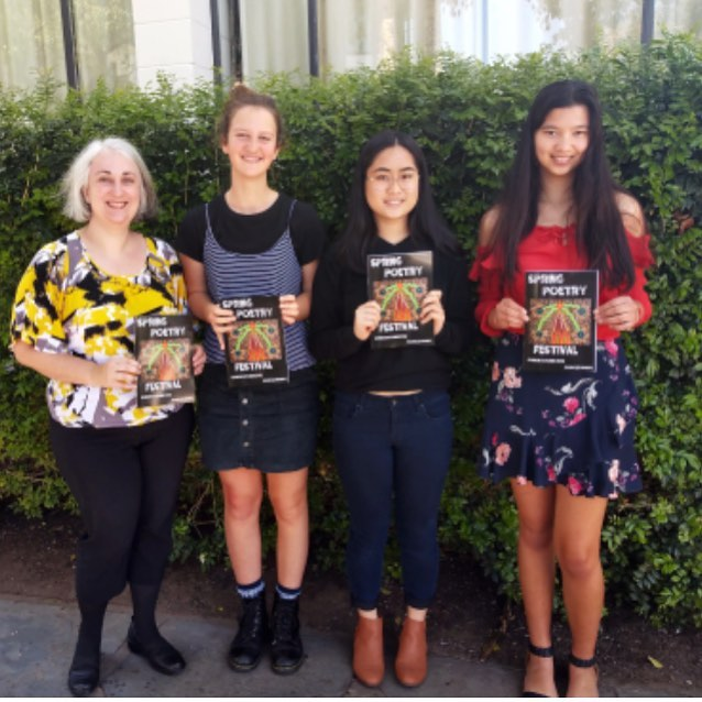 We have 7 pieces featured in the Spring Poetry Anthology! Not all were there for the launch on the weekend but congratulations to Chhaya, Tania, Jackson, Phoebe, Jess, Maria and Mel. #poetry #poetrycommunity #springpoetry #poetryanthology