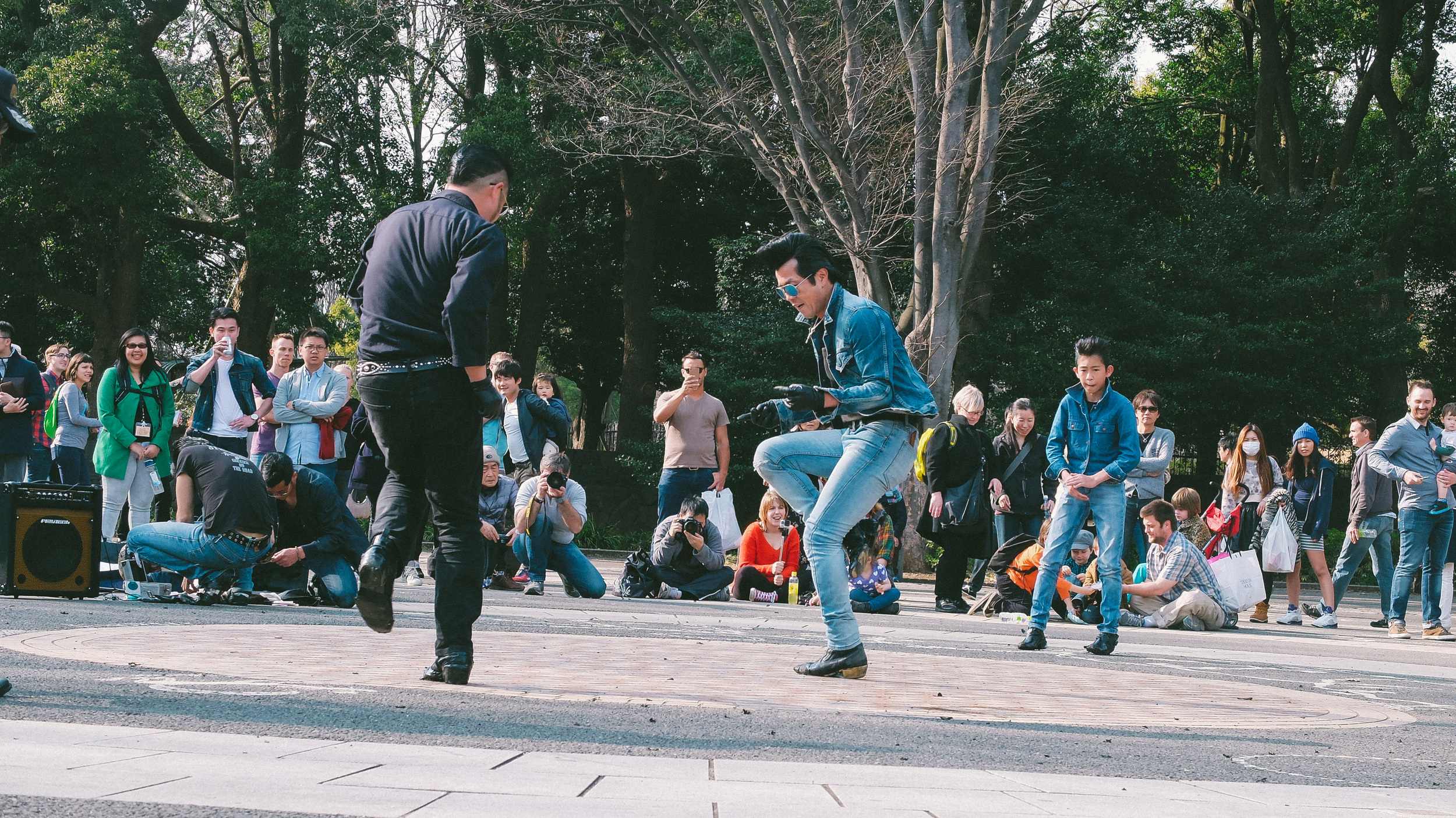 Got down with the Dancing Elvis' of Yoyogi Park on a Sunday afternoon  Cost: Free