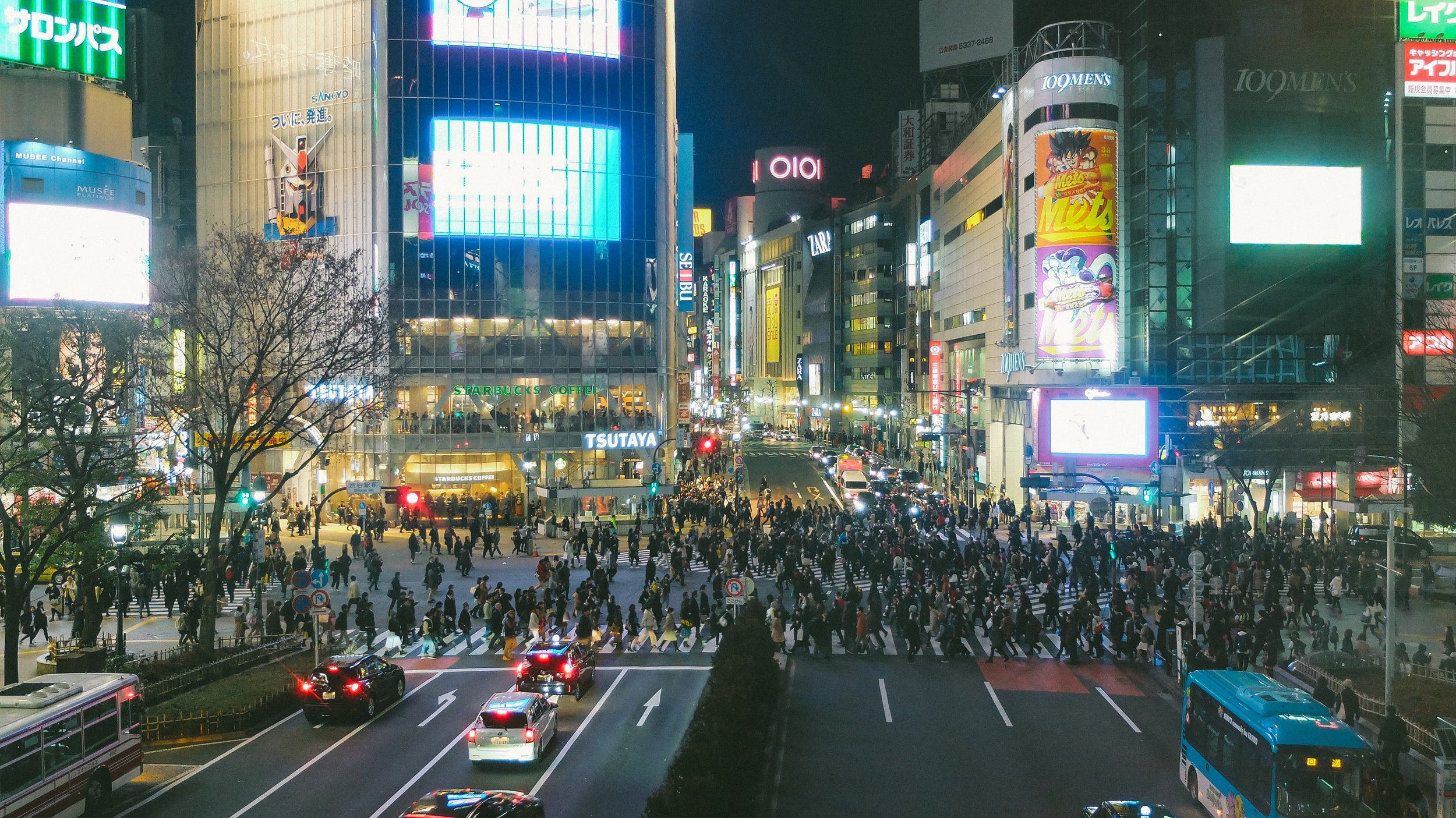 Did the Shibuya Scramble!  Cost: Free