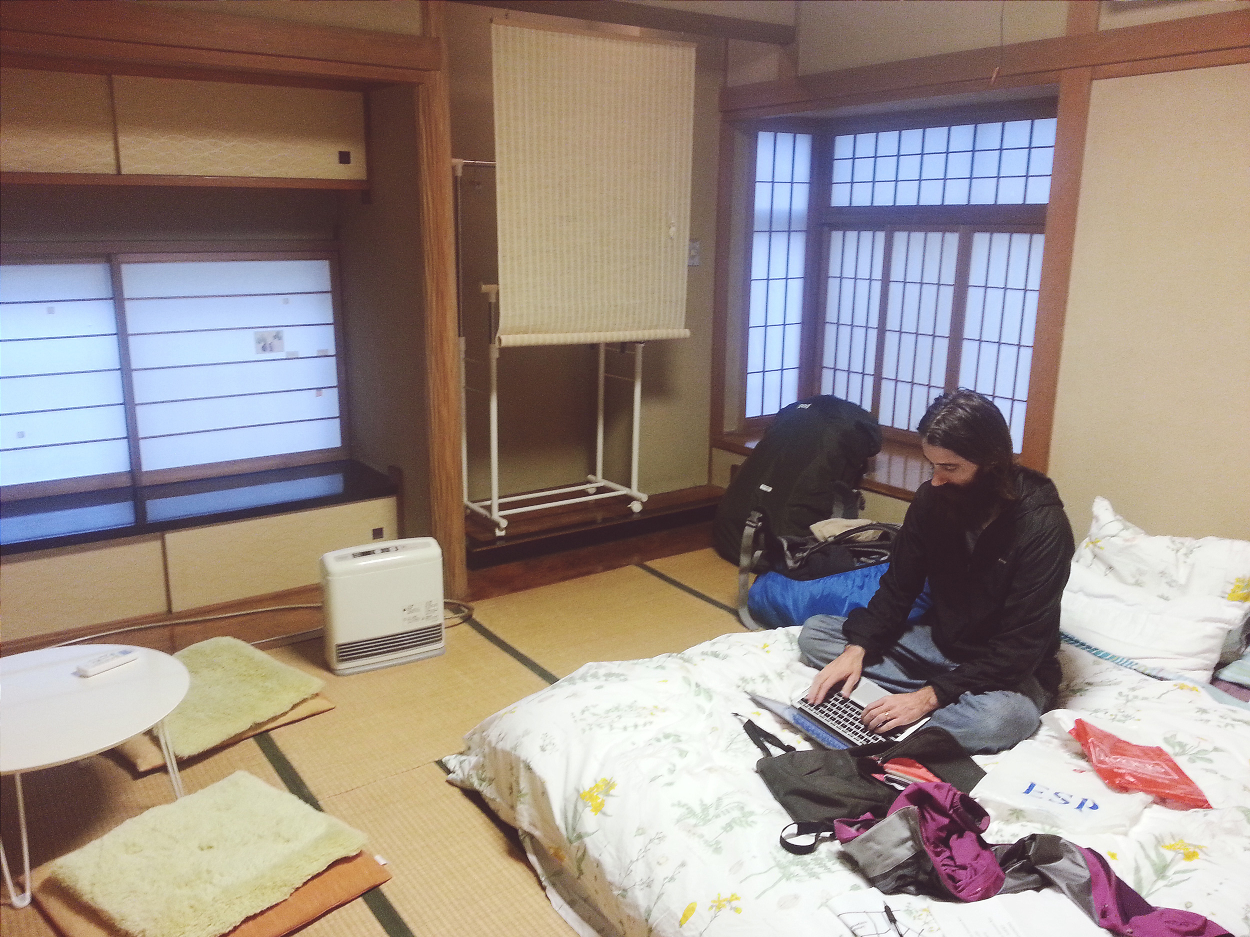 Private Tatami Room in a Yoga Teacher's house. $33 night / 25 minutes from Shibuya station