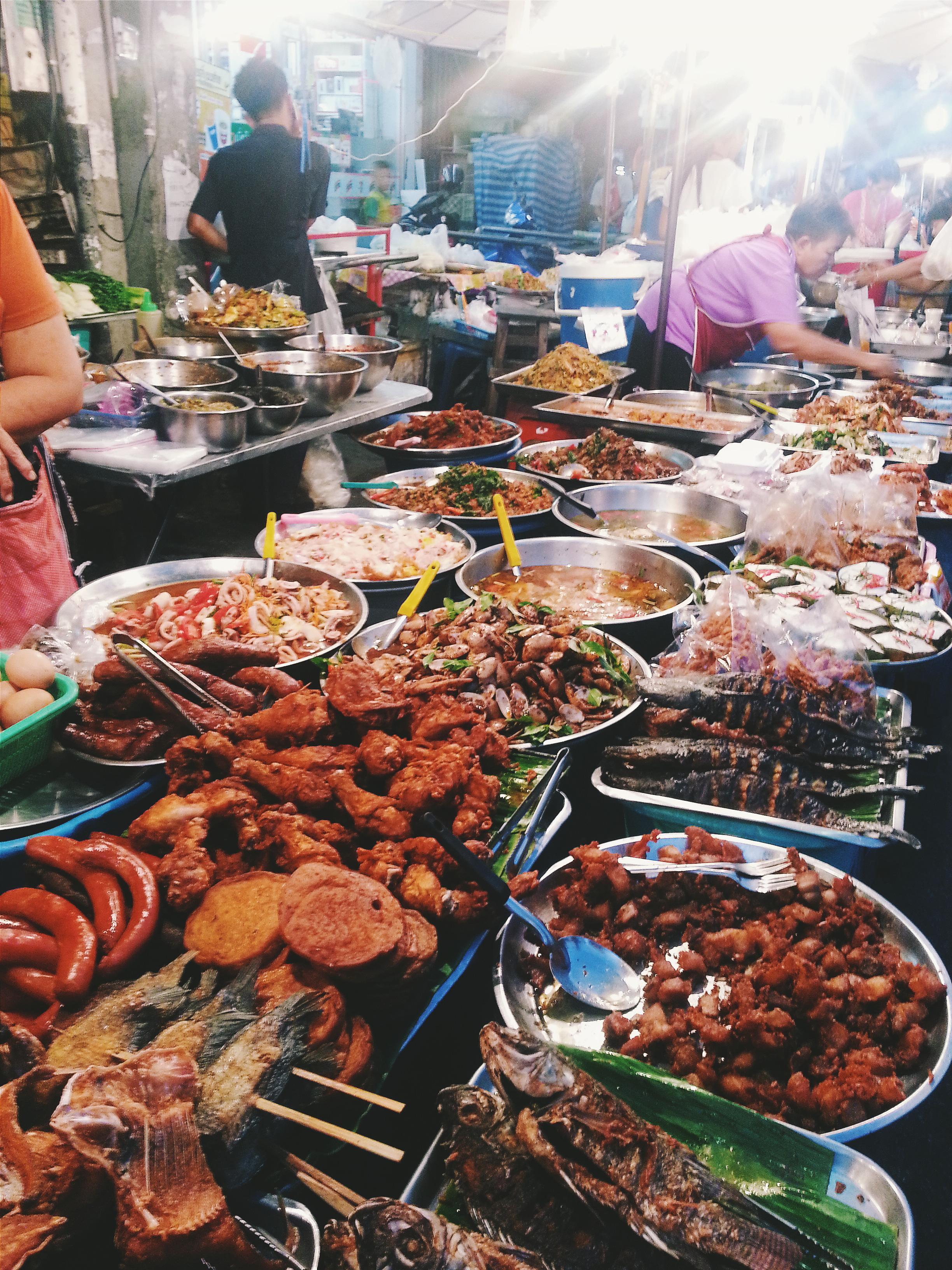 thailand market thai food