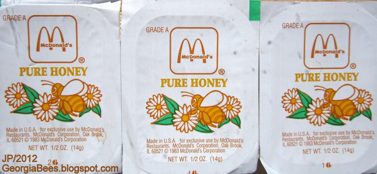 honey sauce mcdonalds