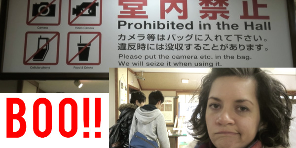 japan because we camp no filming