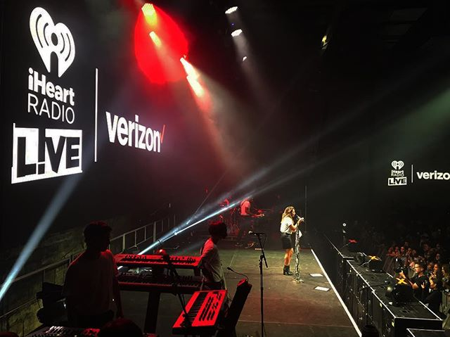 It takes a great crew to produce great events. @iheartradio presents @miguel @avantgardnerbk || lighting || video || rigging ||