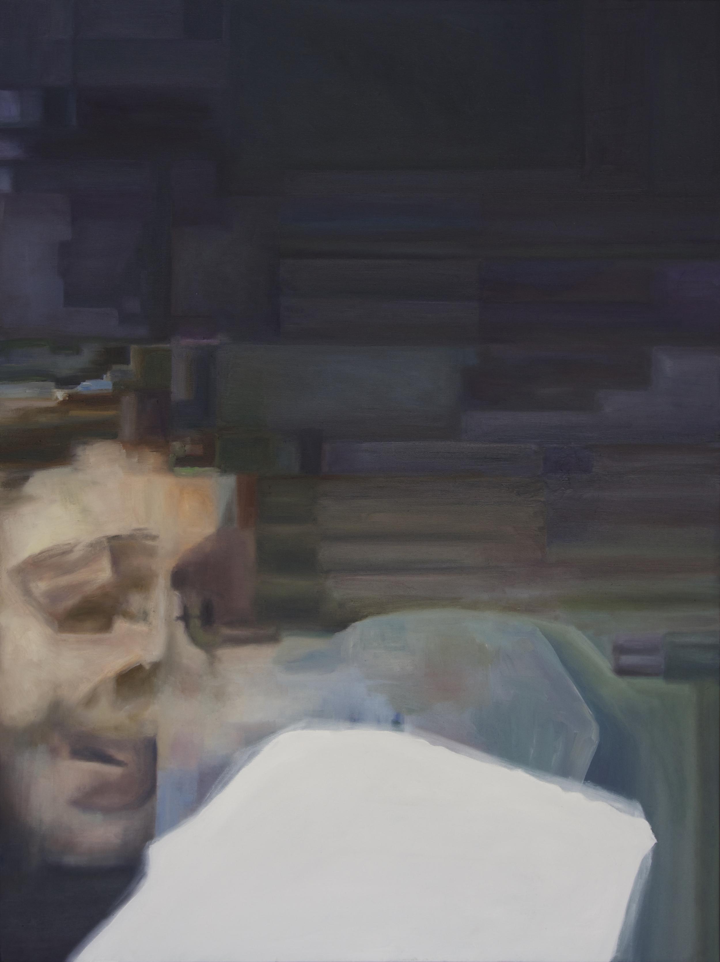 """""""Isaac"""", 2015 - Oil, 30"""" x 40"""""""