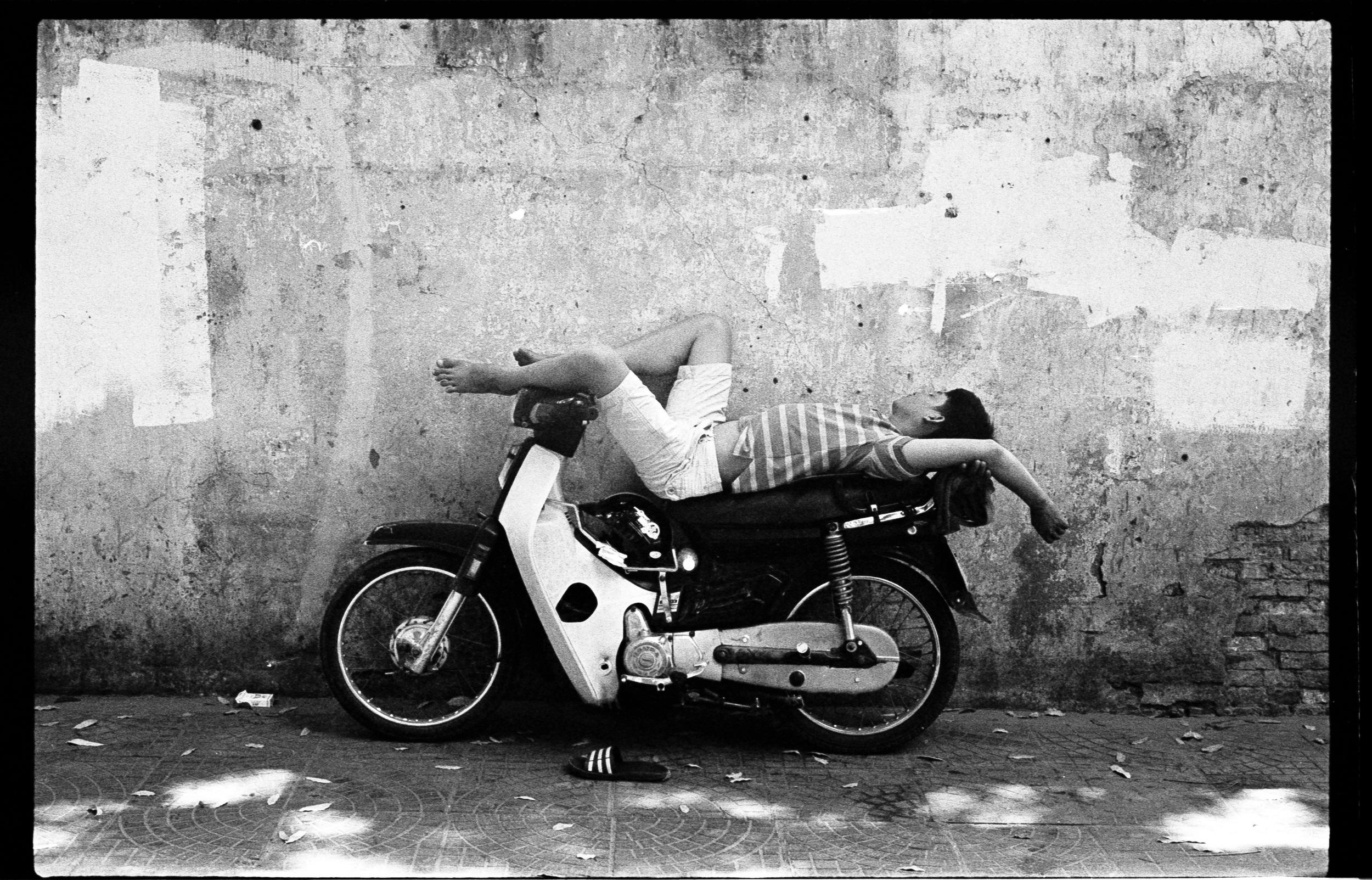 Moped sleeper