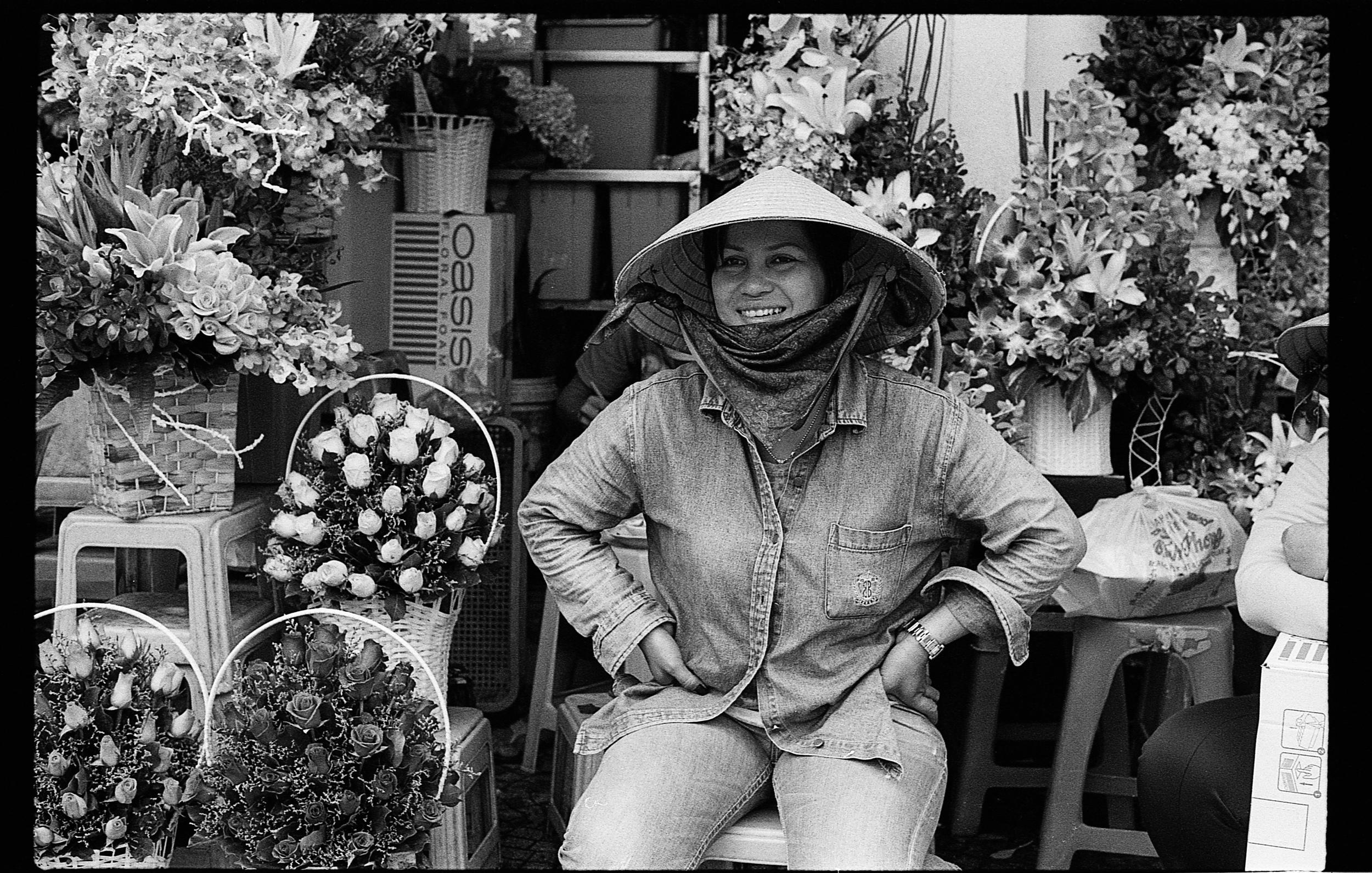 Ben Than flower stall