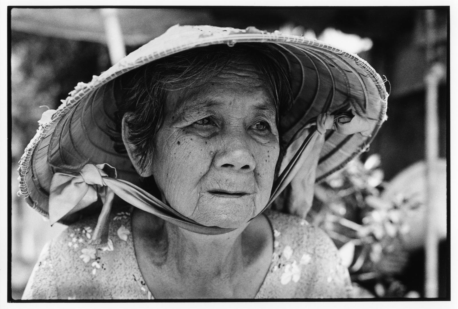 Ho Chi Minh market trader