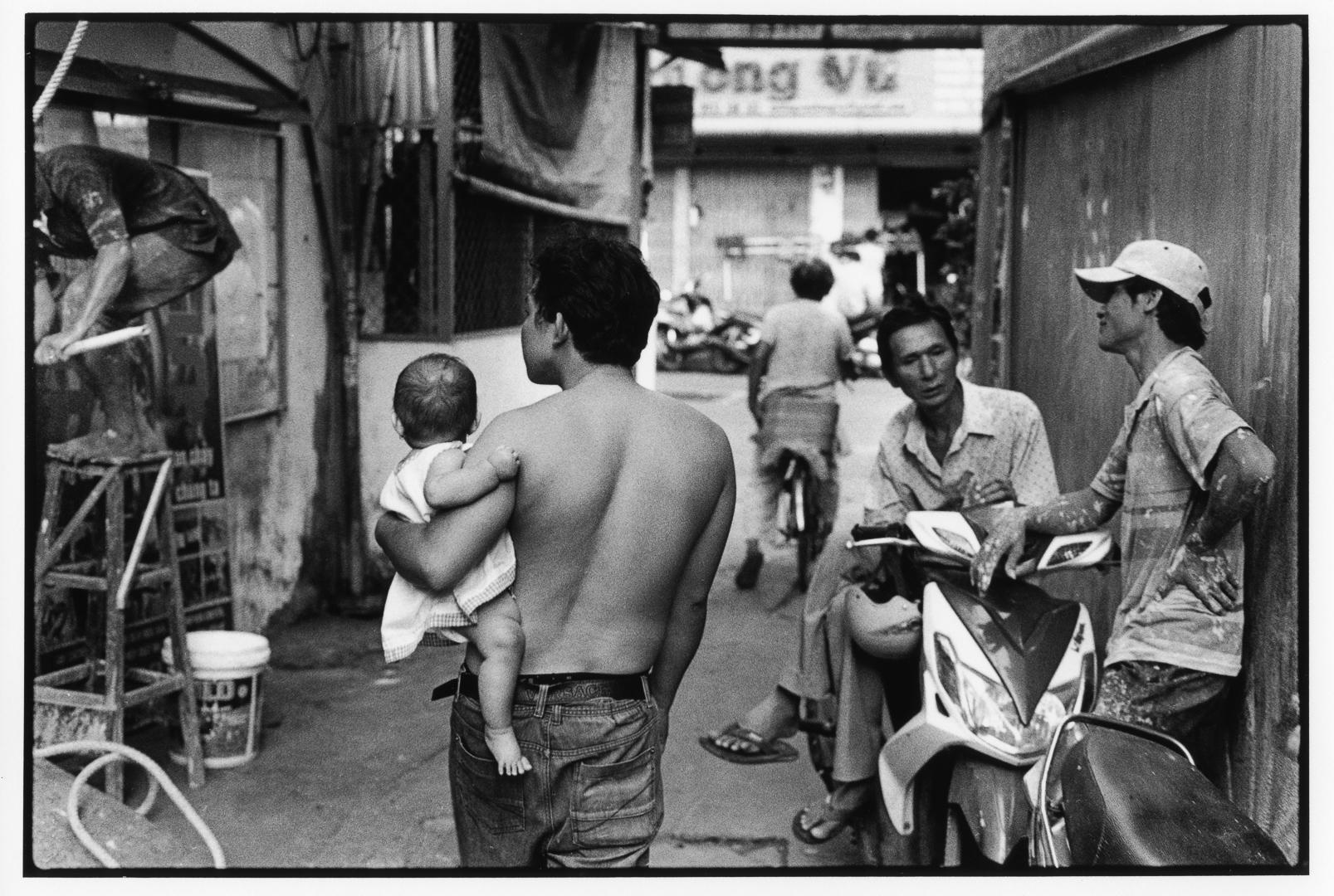 Ho Chi Minh Alleyway