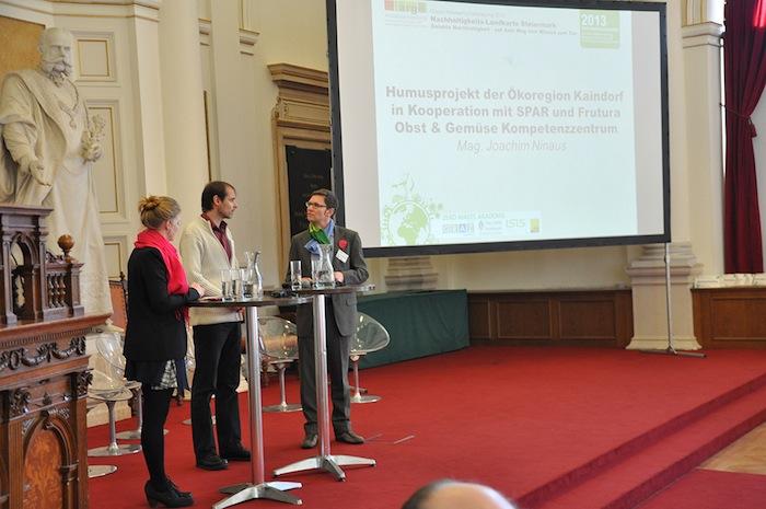 Joachim Ninaus of Ökoregion Keindorf interviewed by Evelina Lundqvist and Michael Bauer-Leeb.