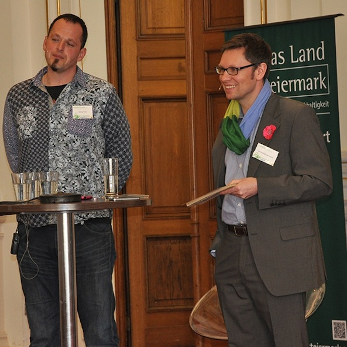 Georg Pock of Pockbier and Michael Bauer-Leeb.