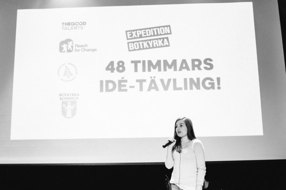 NYANLÄNDA PÅ GÅNG: Maria Gavra