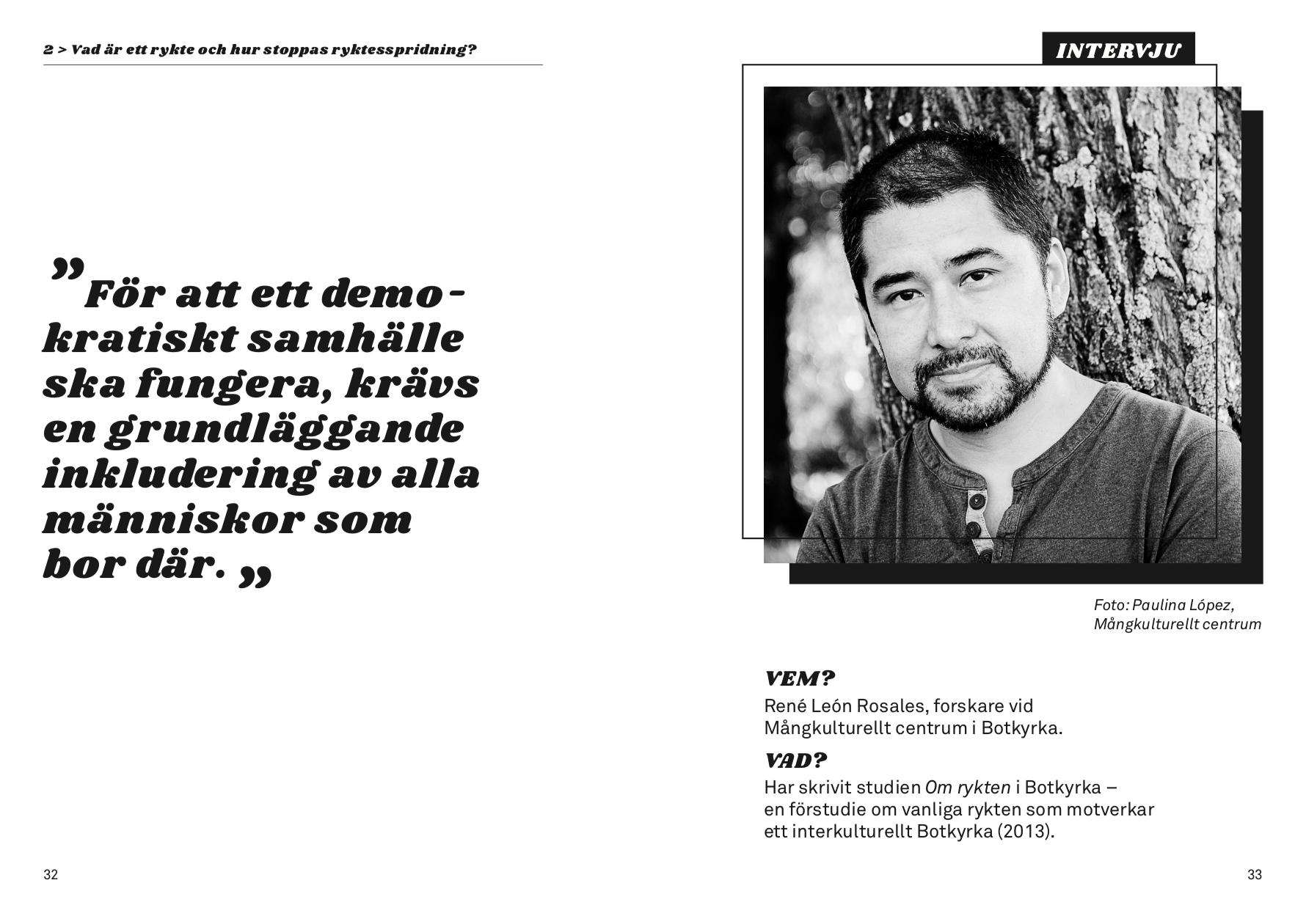 Intervju med René León Rosales
