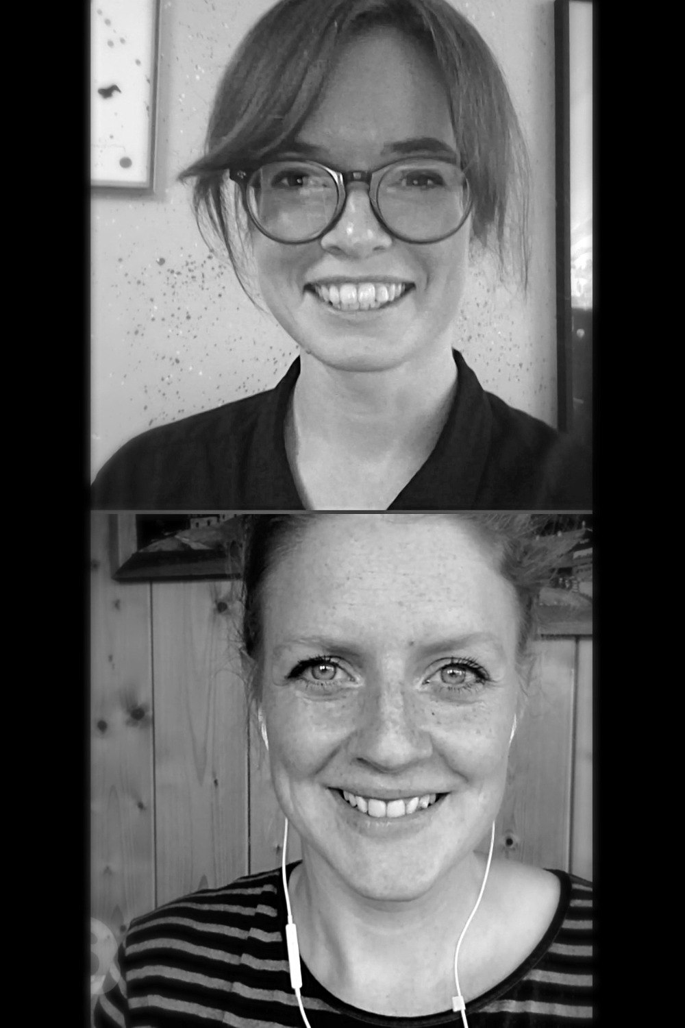 Malin Leth of Circulous (top) and Evelina Lundqvist of The Good Tribe (bottom).