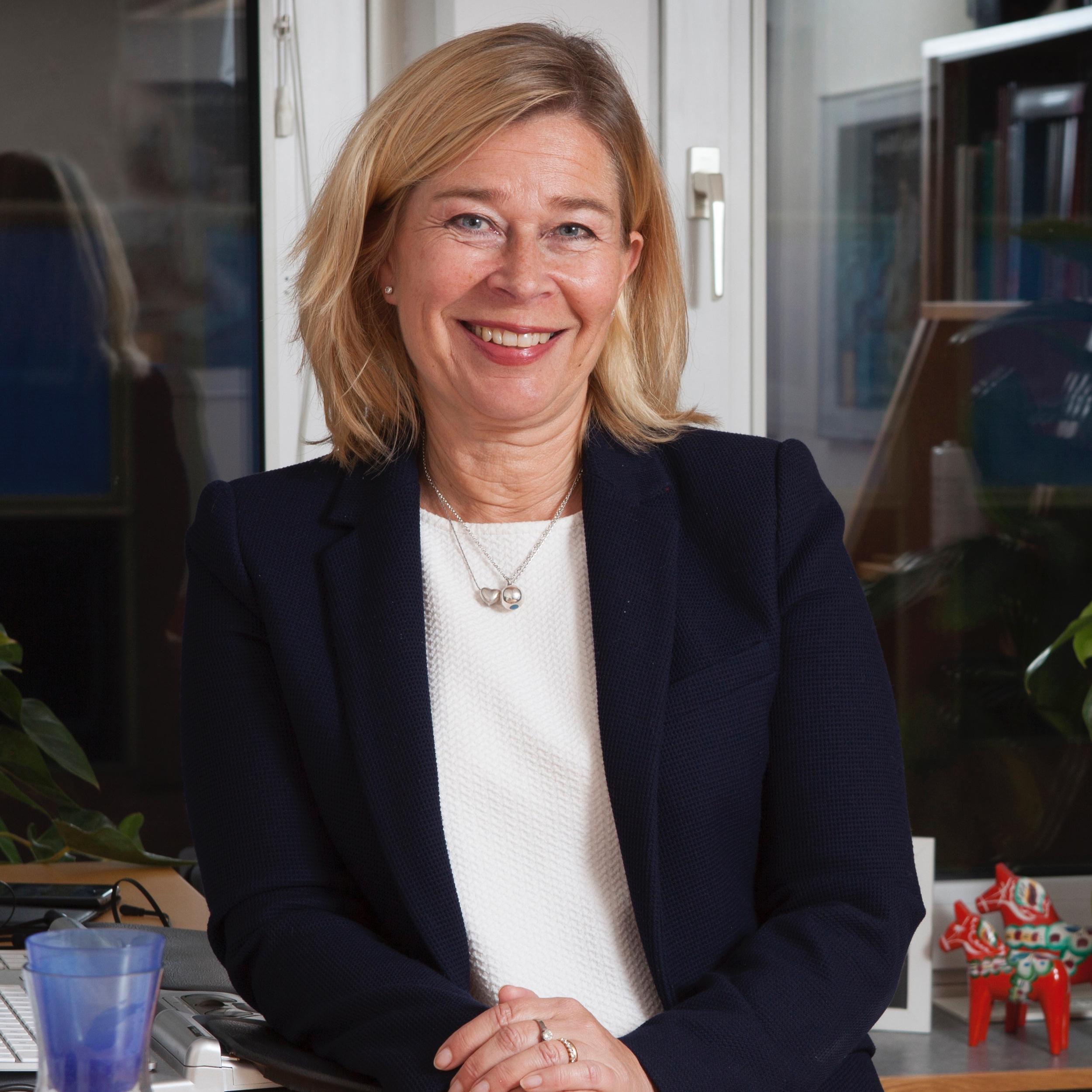 Anna-Carin Gripwall, head of communication at the Swedish Waste Management Association (Avfall Sverige). Photo: Avfall Sverige