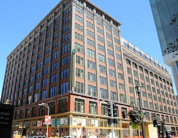 The Laurel Hotel & Apartments located on Washington Ave.