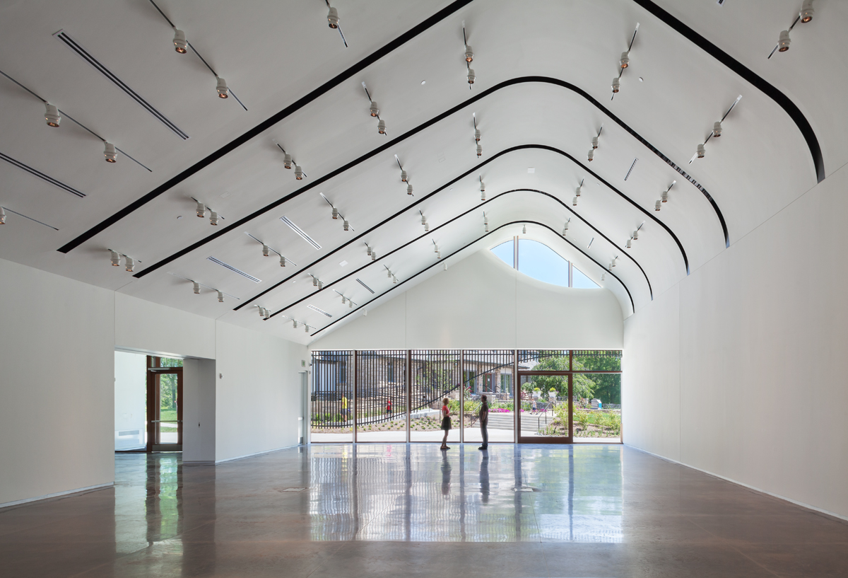 Interior of Adam Aronson Fine Arts Center