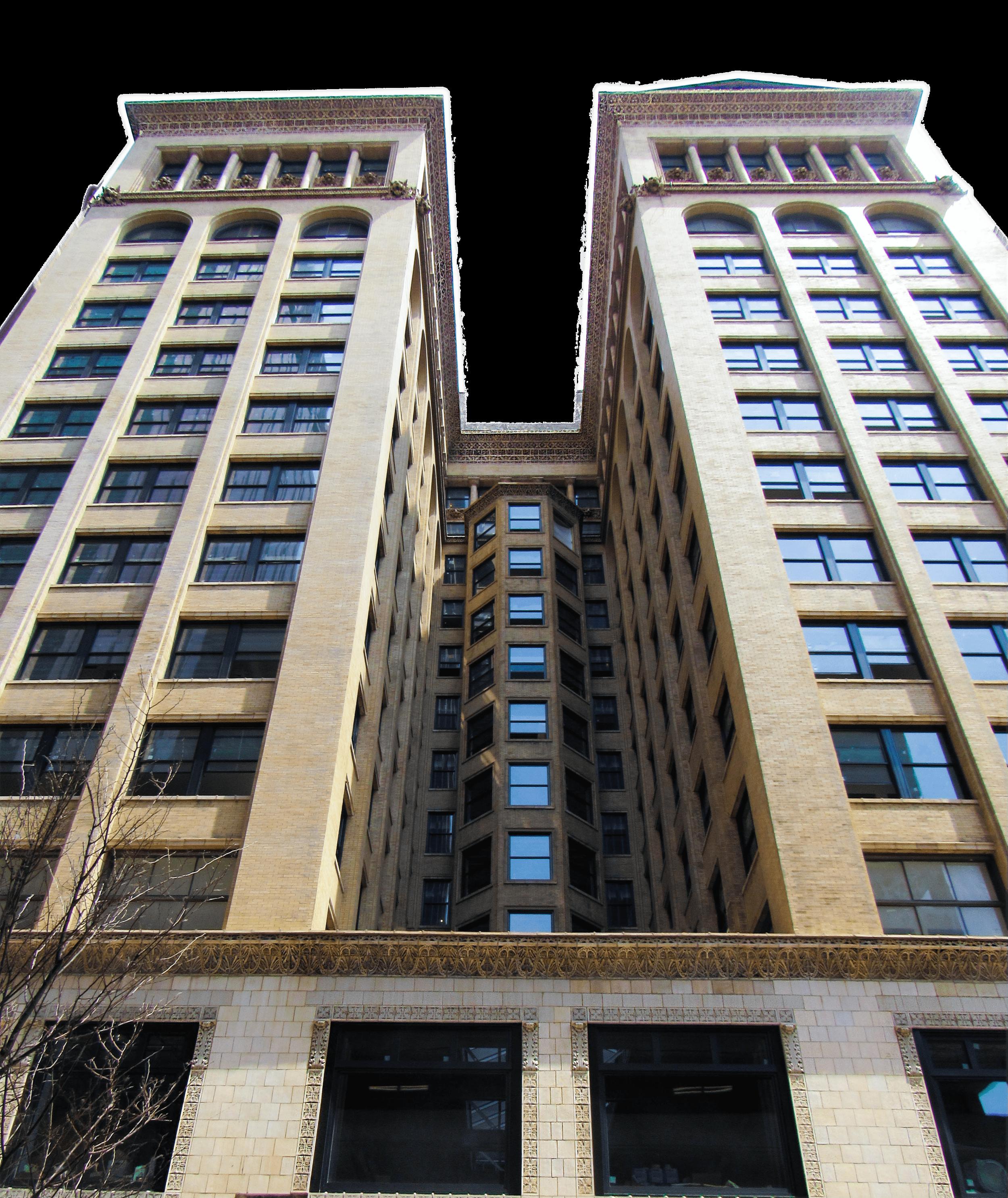 Apartments at 705 Olive (Hotel Saint Louis)