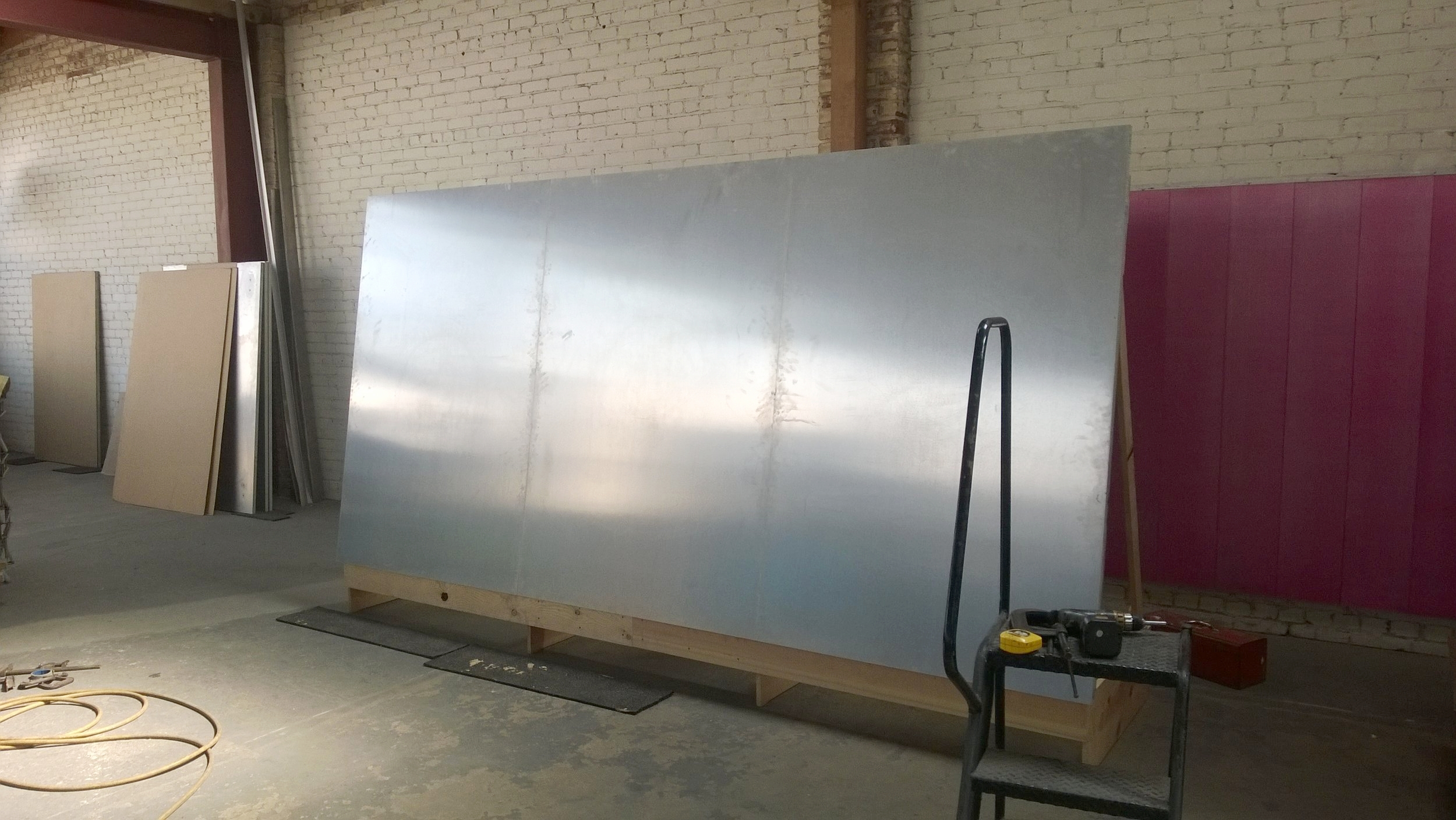 Panel fabrication complete