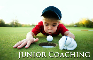 Juniors golf lessons and coaching