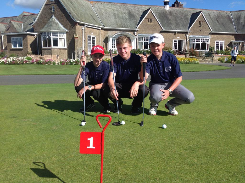 Burstwick Junior Team at Ganton