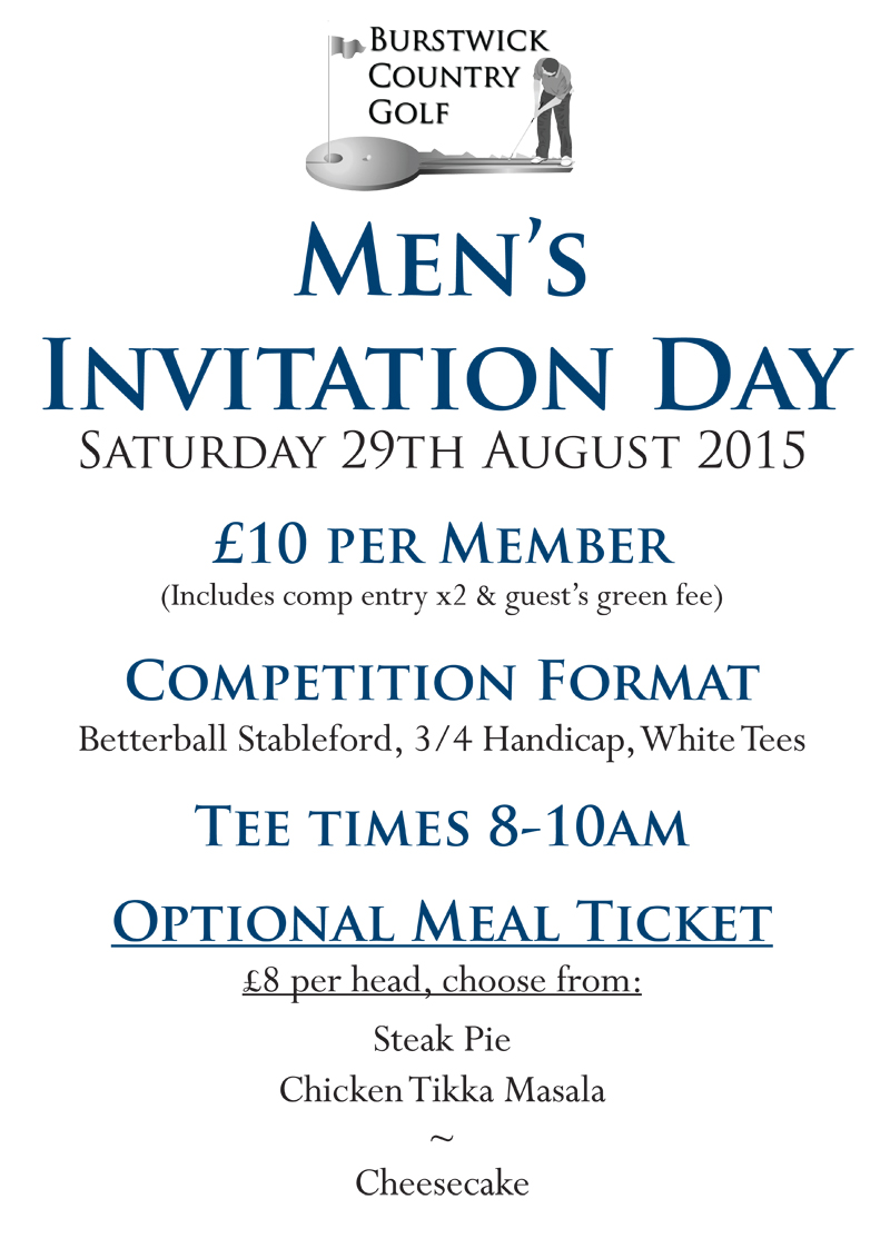 Men's Invitation Day