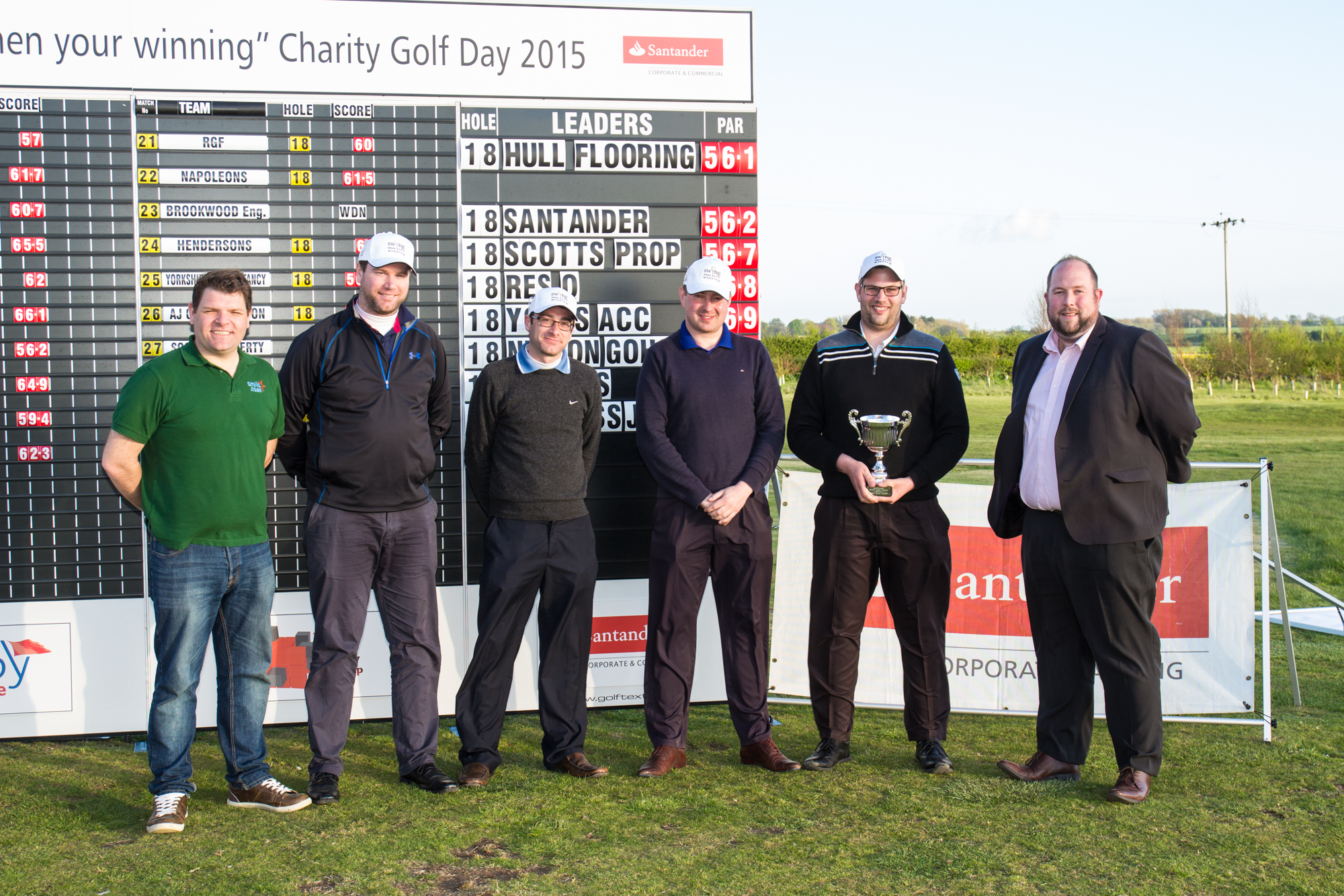Smile Foundation Golf Day with Santander 2015
