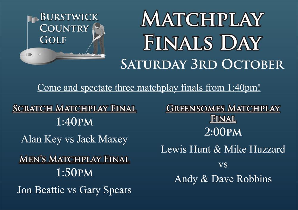 Matchplay Finals Day at Burstwick