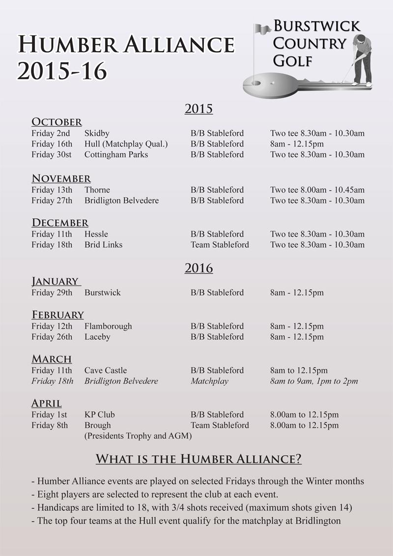 Humber Alliance 2015-16