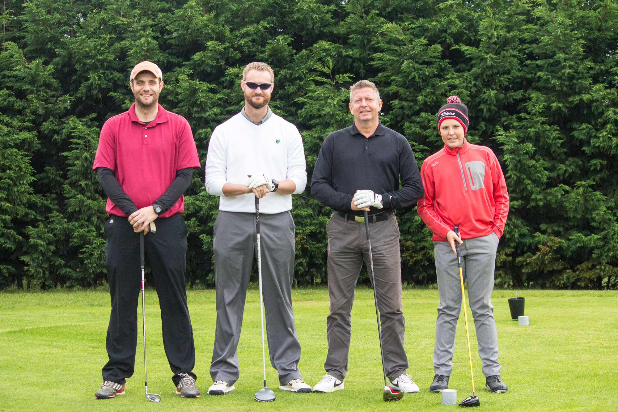 Greensomes Final, Dave & Andy Robbins, vs Mike Huzzard and Lewis Hunt
