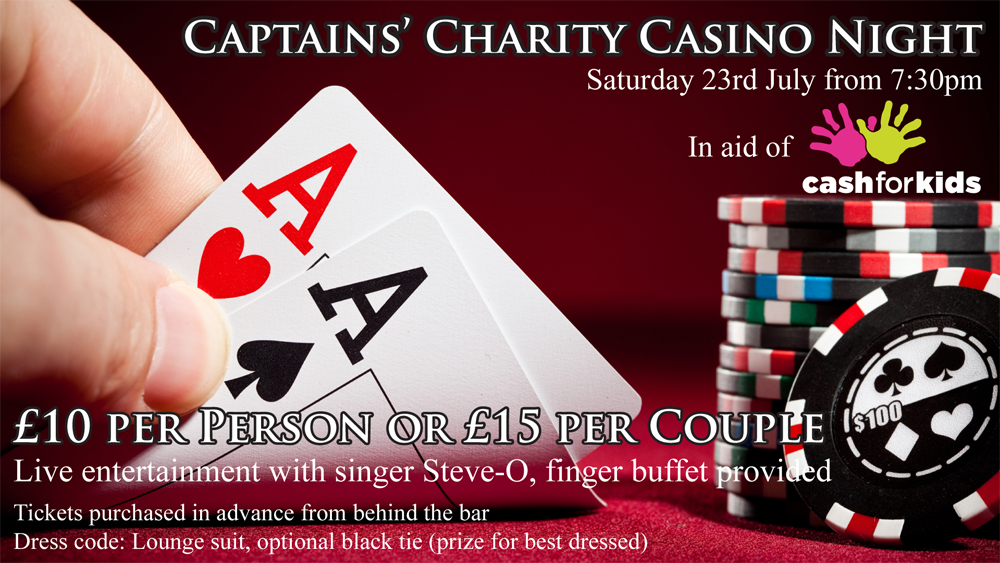Captain's Charity Casino Night