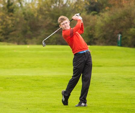 Jack Maxey 2016 Club Champion
