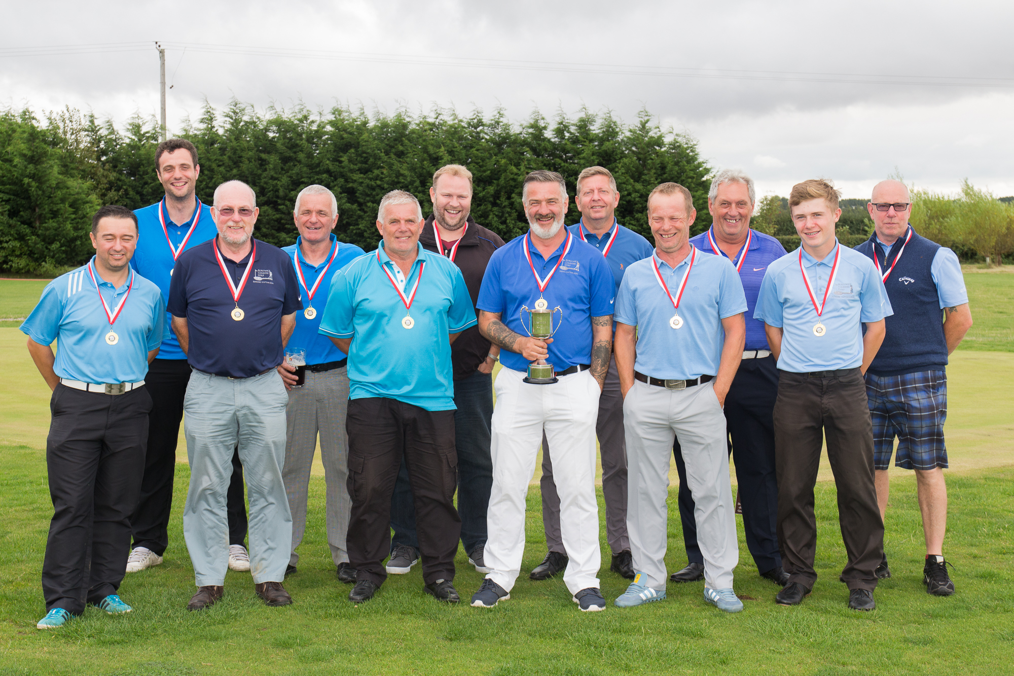 Team Europe winning the Burstwick Cup