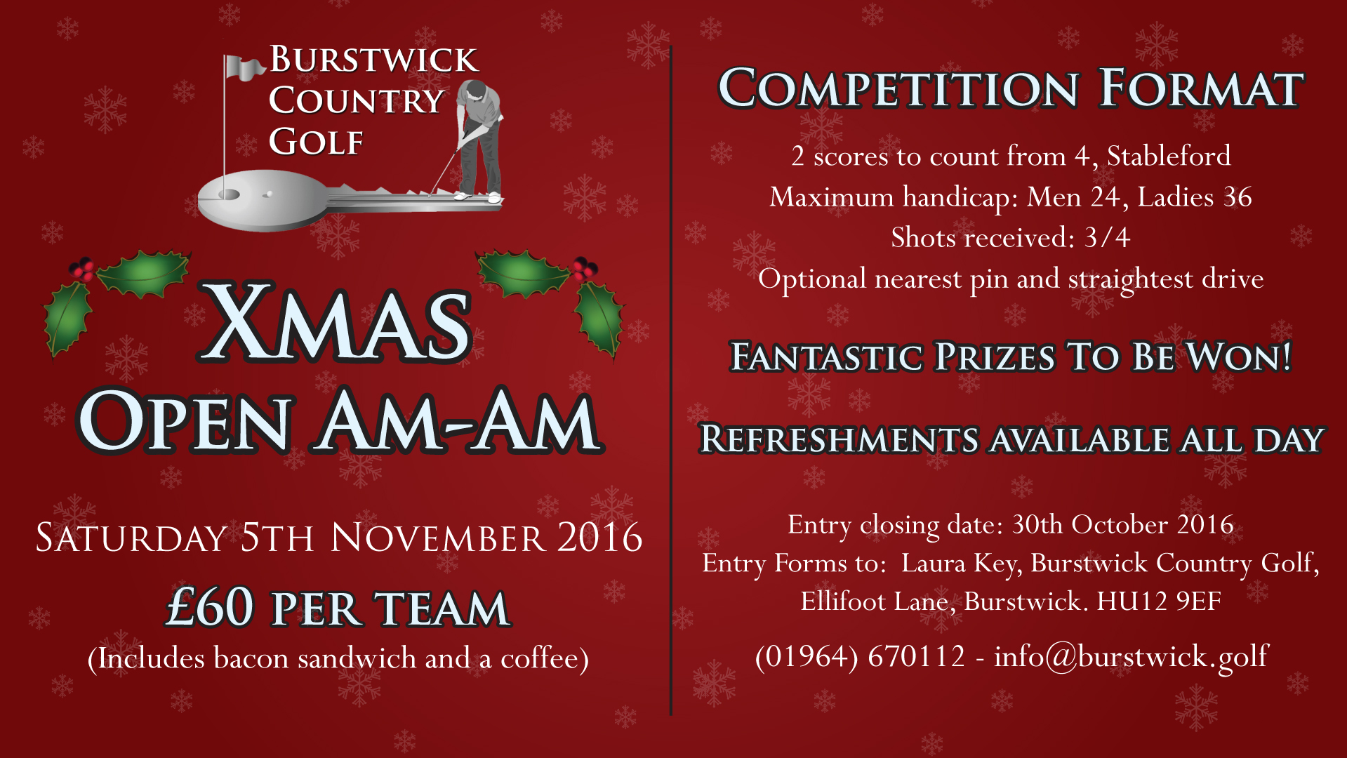 Christmas Open Am-Am