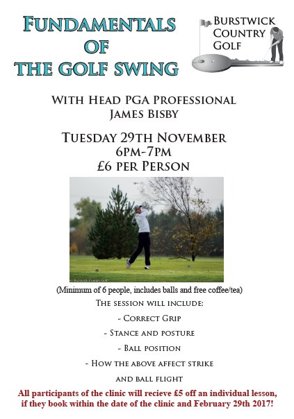 Swing Fundamentals with PGA Professional James Bisby